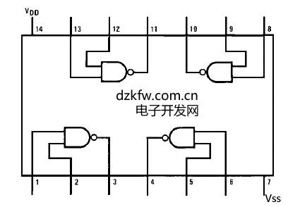 bp管cd4020bp是cmos集成电路,名叫:14级串行进位二进制计数器/分频器.