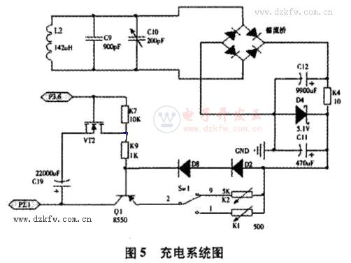 MSP430无线充电器电路原理图