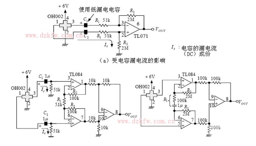 霍尔传感器电路图大全(霍尔电流电压传感器原理图) 磁平衡式霍尔电