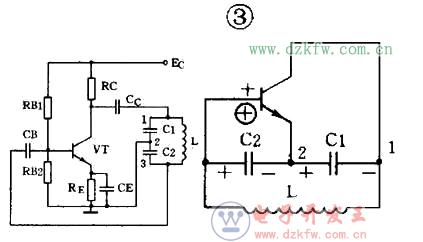 图解最简单的电容振荡电路图大全(四款最简单的电容振荡电路设计原理