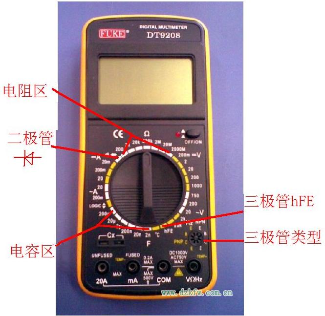 万用表测220v_图文详解:万用表的使用方法大全