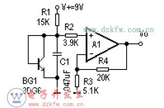 11款lm324典型应用电路图汇总 电压参考 带通滤波 差动放大电路图 四图片