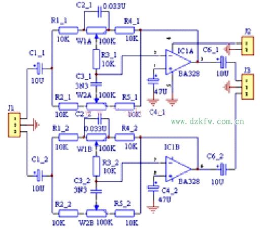 正文  集成电路制作的音调控制电路,花费较大而且制作麻烦;衰减式音调