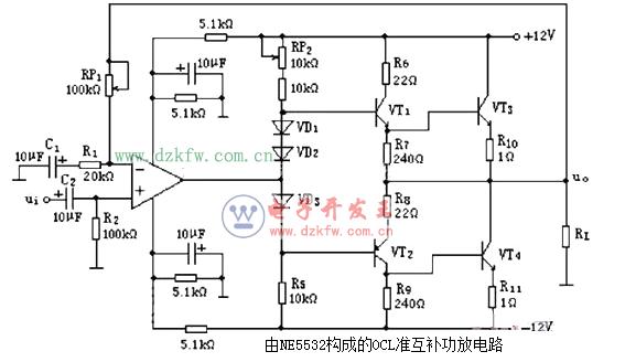 简单音频功放电路原理图大全 六款简单音频功放电路设计原理图详解