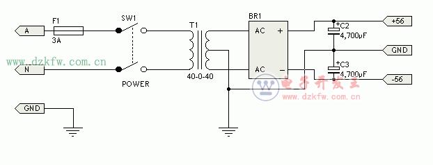 电吹风电路图_简单音频功放电路原理图大全(六款简单音频功放电路设计原理 ...