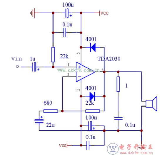 简易大功率功放电路图分享 五款电路图介绍